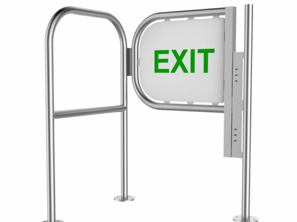 Exit and No Entry Barrier and Gate